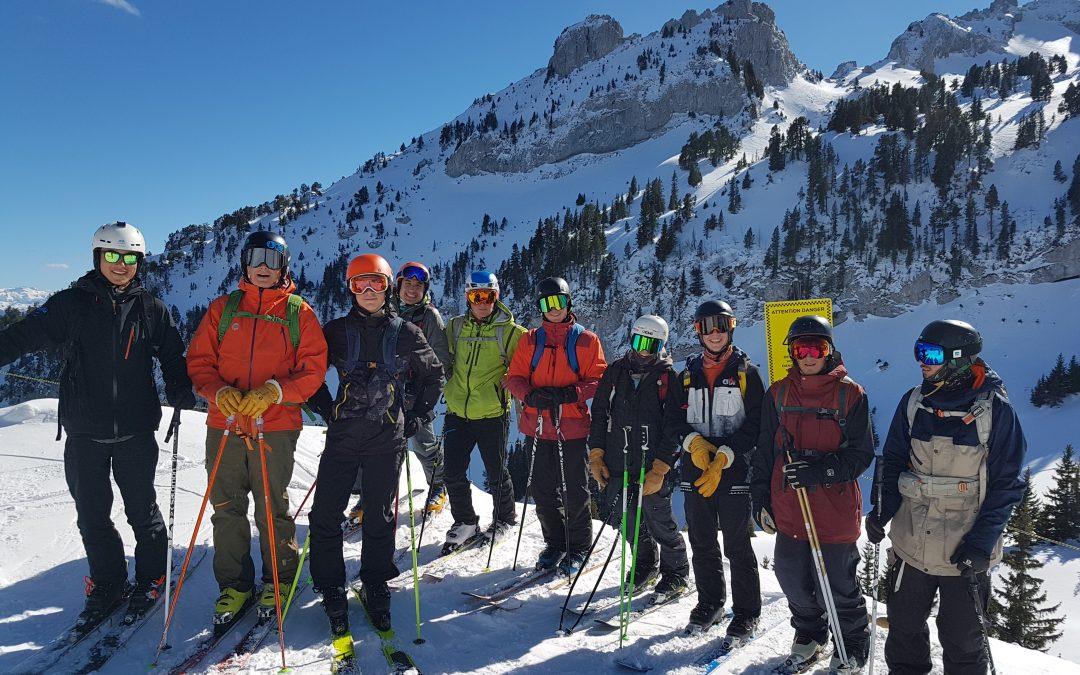 Sorties ski pour les élèves de Bac Pro