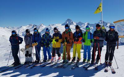 Ski de piste pour les élèves de Bac Techno STAV 1ère & 2ème années