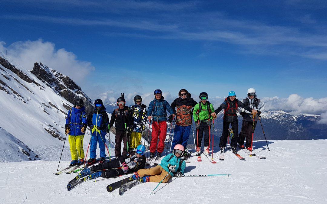 Dernière journée de ski pour la classe de 2de Pro