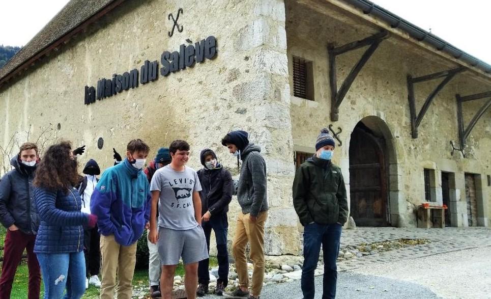 Les étudiants de BTS GPN à la Maison du Salève