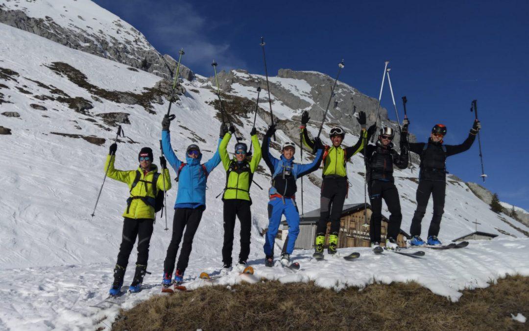 Reprise du ski de randonnée