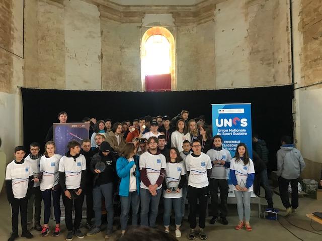 Les élèves du CFMM au championnat de France UNSS/Open Jeunes de Vol Libre