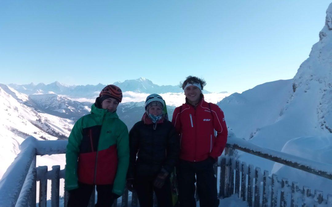 Sortie ski de randonnée