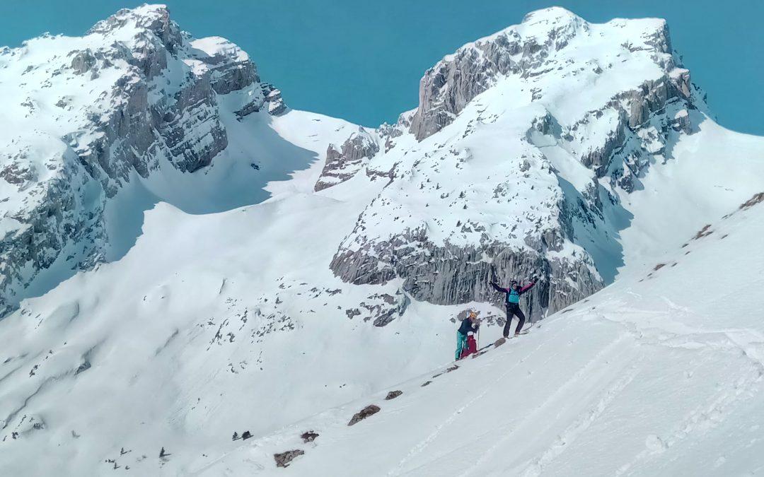 Ski de randonnée pour les élèves de 1ère Bac Pro et Bac STAV
