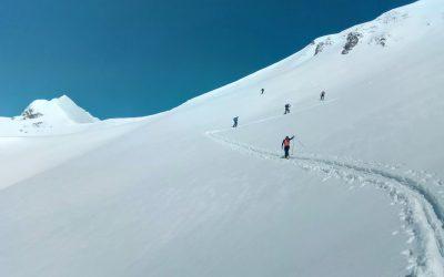 Ski de randonnée dans le Beaufortin pour les BTS GPN 2ème année