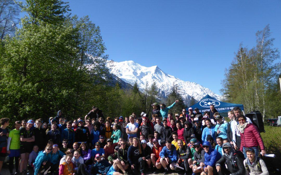 Les élèves et étudiants du CFMM à l'Odyssée Alpes 2019 à Chamonix