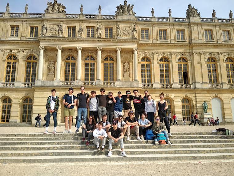 Voyage d'études à Paris pour les élèves de Bac STAV 2/3