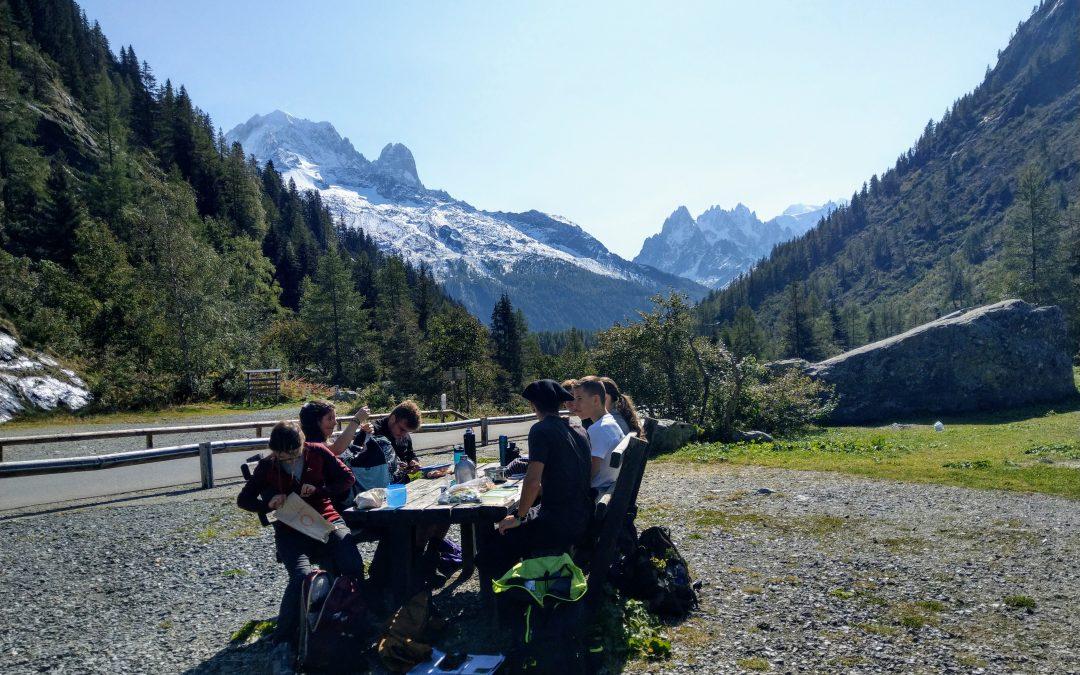 Les étudiants de BTS GPN à la découverte de la vallée de Chamonix