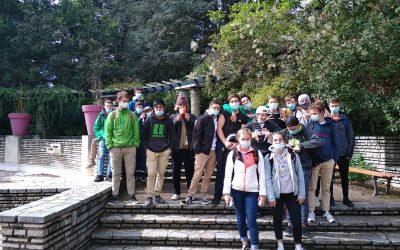 Découverte des parcs urbains lyonnais pour les élèves de Terminale Pro Aménagements Paysagers